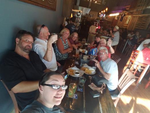 The Gang at Taco Dive - Fort Pierce