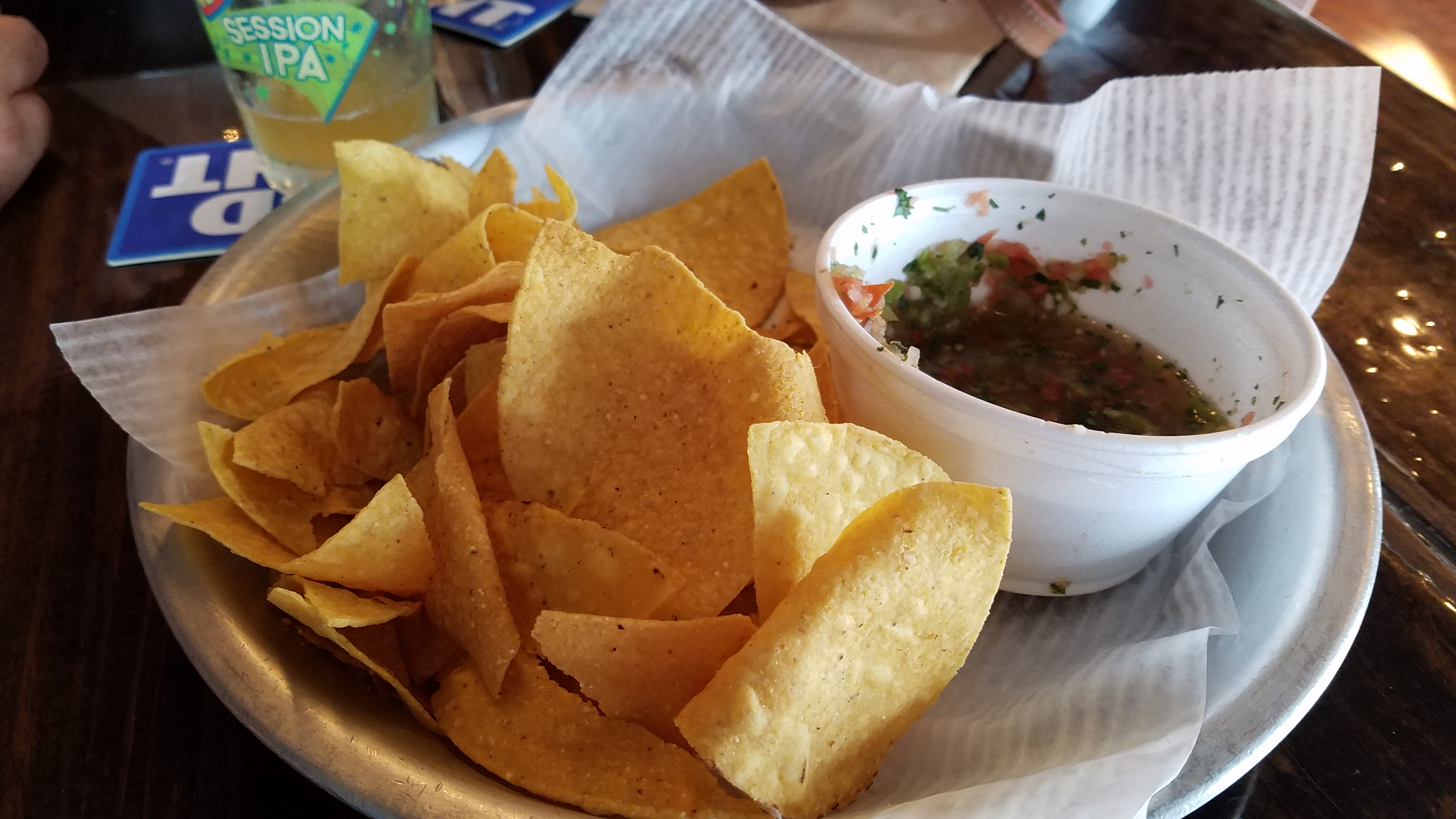 Delicious Chips and Salsa at Taco Dive - Fort Pierce