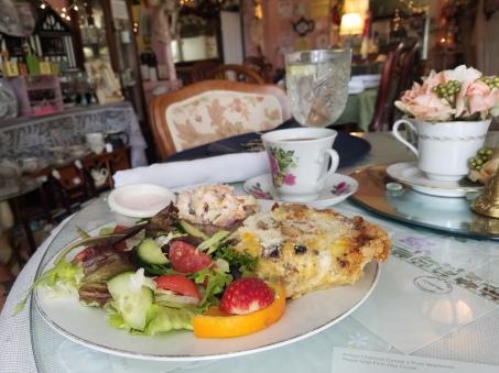Quiche & Side Salad